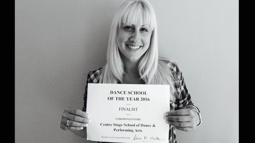 DANCE SCHOOL OF THE YEAR 2016